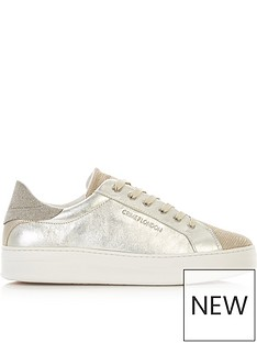 crime-london-sonic-metallic-trainers-gold