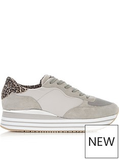 crime-london-dynamic-double-sole-trainers-grey