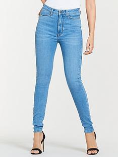 cec3c05c541 Michelle Keegan Premium Skinny Jeans - Light Wash