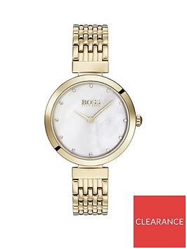 boss-boss-celebration-white-crystal-set-dial-gold-stainless-steel-bracelet-ladies-watch