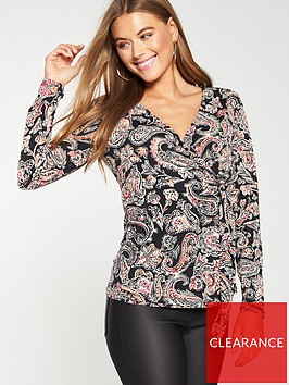 v-by-very-paisley-jersey-wrap-top
