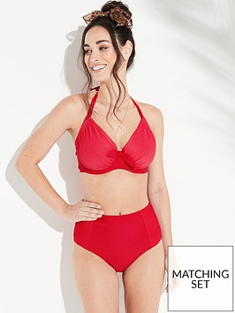 pour-moi-bali-control-bikini-briefs-red