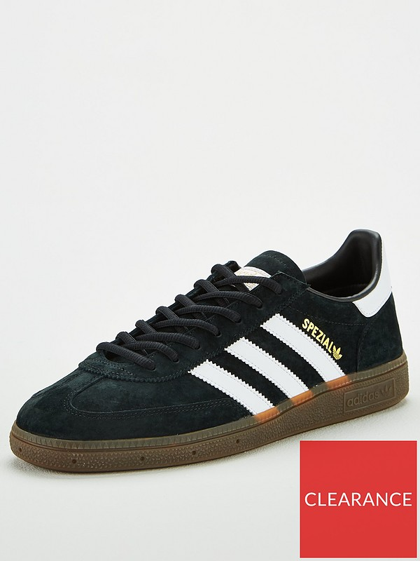 Men's adidas originals handball spezial, black size Depop