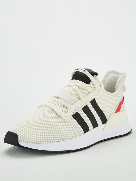 6f7c6562e67be adidas Originals U Path Run - White/Black | very.co.uk