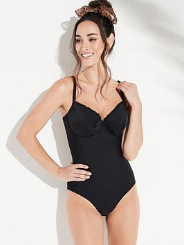 pour-moi-splash-padded-underwirednbspswimsuit-black
