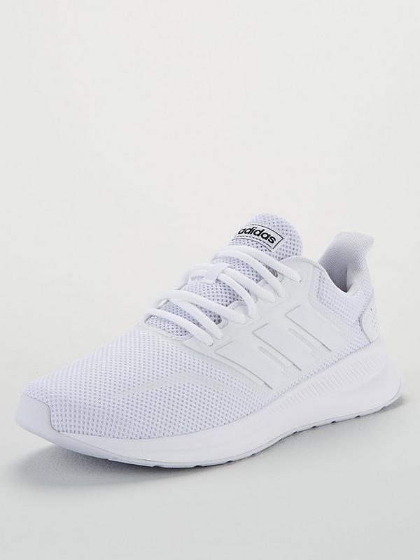 voltereta Eficacia vestir  adidas Run Falcon - White | very.co.uk
