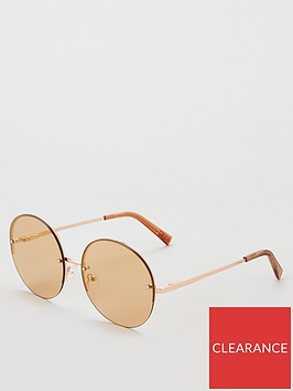 le-specs-le-specs-say-my-name-round-rose-gold-sunglasses