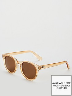 le-specs-hey-macarena-oval-sunglasses