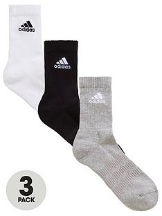 adidas-cushion-crew-socks-3-pack--nbspblackwhitegrey