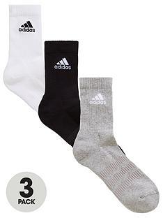 adidas-cushion-crew-socks-3-pack--nbspblackwhitegrey