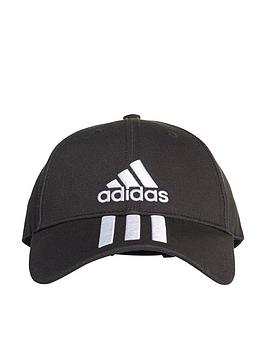 adidas-3-stripe-cotton-cap