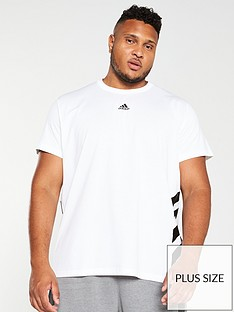adidas-plus-size-3-stripe-t-shirt-white