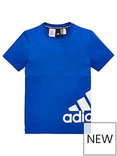 adidas-youth-badge-of-sport-side-logo-t-shirt-bluewhite