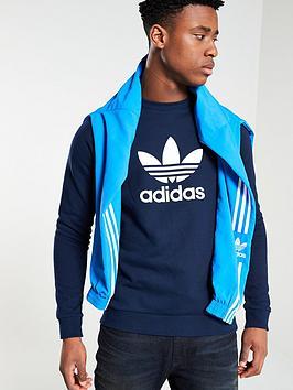 adidas-originals-trefoil-crew-neck-sweat-navy