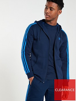 adidas-originals-3-stripe-full-zip-hoodienbsp--navy