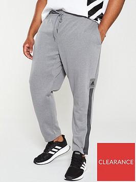 adidas-plus-size-365-pants-grey