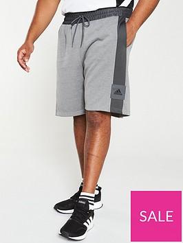 adidas-plus-size-365-shorts-grey