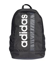 adidas-linear-logo-core-backpack-black