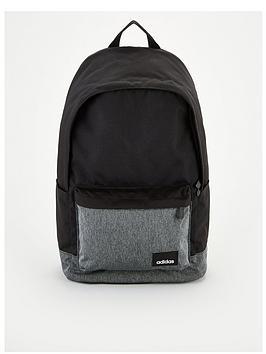 adidas-linear-logo-classic-backpack-black