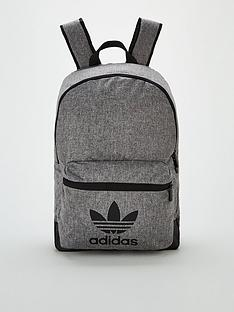 adidas-originals-melange-classic-backpack-black