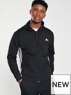 adidas-side-3-stripe-full-zip-hoodie