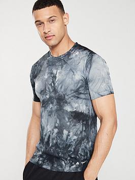 adidas-parley-3-stripe-t-shirt-blacknbsp