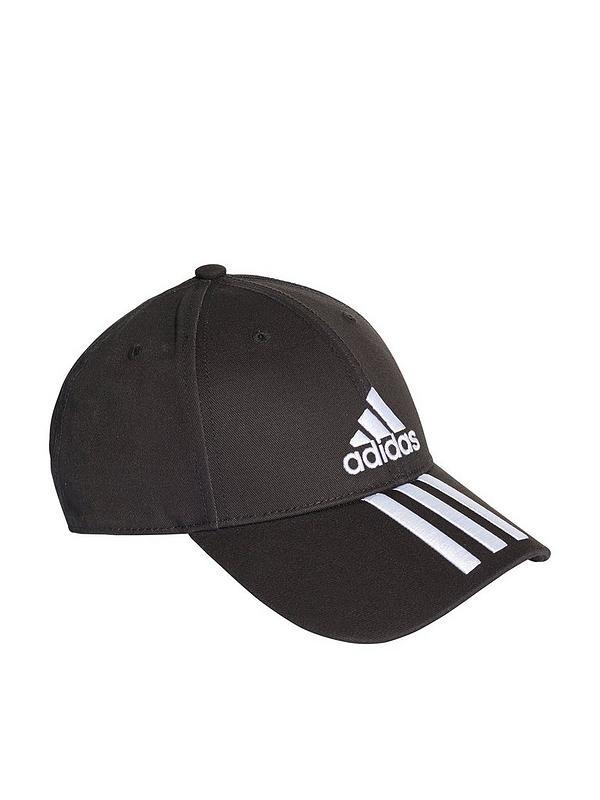 low price sale buy popular amazon 6 Panel 3 Stripe Cap - Black