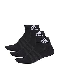 adidas-3-stripe-cushioned-ankle-socks-black