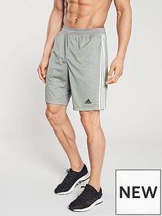 adidas-3-stripe-training-shortnbsp-medium-grey-heathernbspbr-br