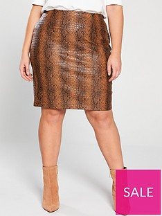 16e602d07 Leather Skirts | Leather & PU Skirts for Women | Very.co.uk
