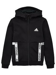 adidas-youth-sport-id-br-full-zip-hoodienbsp--blackwhite