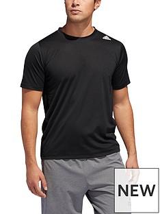 adidas-3-stripe-training-t-shirt