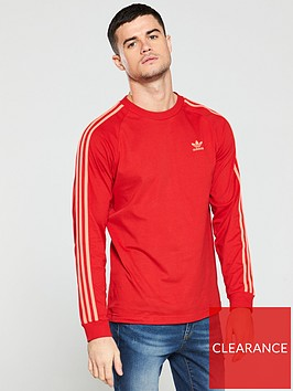 adidas-originals-3-stripe-t-shirt-scarlet