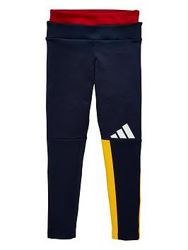 adidas-youth-id-colour-block-leggings-navywhite