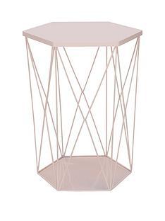 wire-storage-basket-table-pink