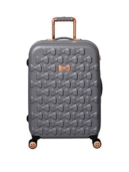 ted-baker-beau-medium-4-wheel-suitcase-grey