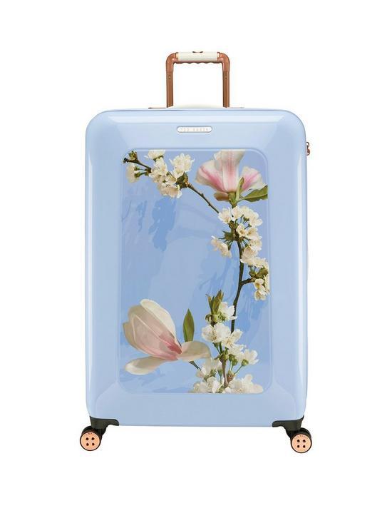 efbaf2aba117 Ted Baker Take Flight Large 4 Wheel Suitcase Harmony