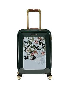 6b845a7fe4c Ted Baker Take Flight Small 4 Wheel Suitcase Illusion Grn