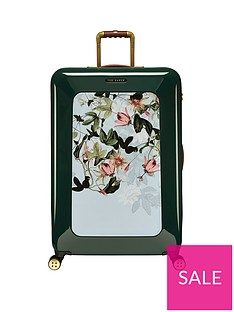 ted-baker-take-flight-large-4-wheel-suitcase-illusion-grn