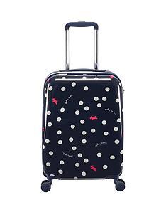 radley-radley-vint-dog-dot-small-4-wheel-suitcase-ink