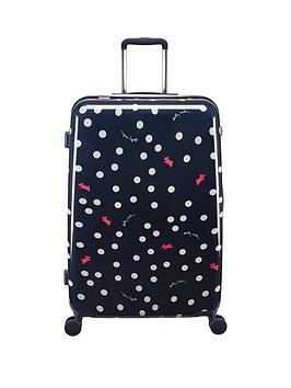 radley-radley-vint-dog-dot-large-4-wheel-suitcase-ink