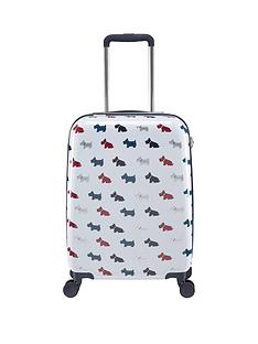 radley-radley-multi-dog-small-4-wheel-suitcase-white