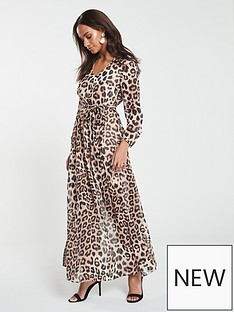 v-by-very-maxi-dress-animal-print