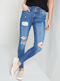 v-by-very-ella-high-waisted-all-over-ripped-jean-double-waistband-mid-washnbsp