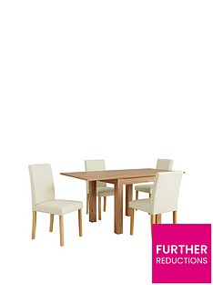 square-to-rectangle-80--160-cm-extending-table-4-lucca-chairs