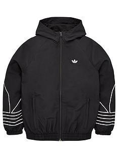 adidas-originals-youth-outline-wind-breaker-jacket-blackwhite