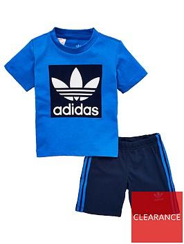 adidas-originals-infant-shorts-amp-t-shirt-set-bluenavy