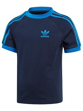 adidas-originals-little-kids-3-stripes-t-shirt-navyblue