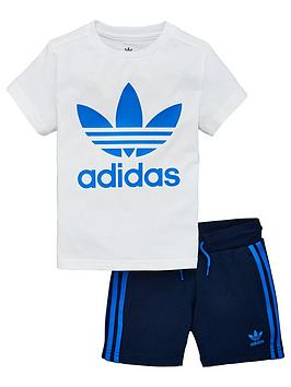 adidas-originals-adidas-originals-little-kids-short-t-shirt-set