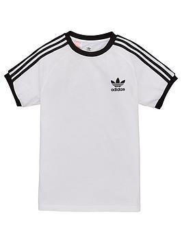 adidas-originals-youth-3-stripes-t-shirt-whiteblack